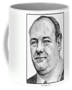 James Gandolfini In 2007 Coffee Mug
