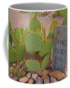 James Hickey Shot  Coffee Mug
