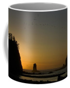 James Island Sunset And Birds Coffee Mug