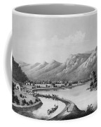 James River Canal, 1857 Coffee Mug