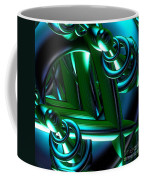 Jammer Blue Green Flux 001 Coffee Mug
