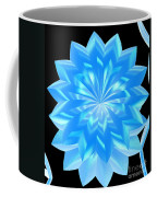 jammer Blue Shimmer Lotus Coffee Mug
