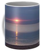 Flash Sunset Lake Huron By Jammer Coffee Mug
