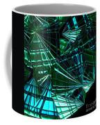 Jammer Swirling Emeralds  Coffee Mug
