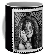 Janis Stamp In A Black And White Vibe Coffee Mug