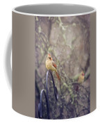 January Cardinals Coffee Mug