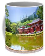 Japanese Byodoin Temple Coffee Mug