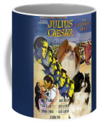 Japanese Chin Art - Julius Caesar Movie Poster Coffee Mug