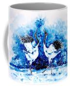 Japanese Cranes Coffee Mug