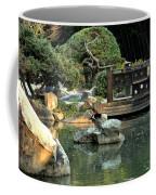 Japanese Garden At Sundown Coffee Mug