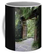 Japanese Garden Gate  Coffee Mug