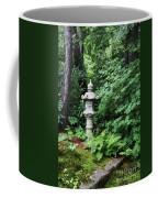 Japanese Garden Lantern Coffee Mug
