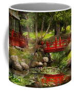 Japanese Garden - Meditation Coffee Mug by Mike Savad