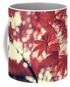 Japanese Maple Leaves - Vintage Coffee Mug