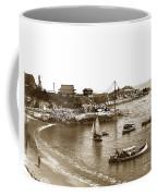 Japanese Tea Garden Glass Bottom Boats At Lovers Point Pacific Grove California Circa 1907 Coffee Mug