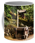 Japanese Tea Garden Well Coffee Mug