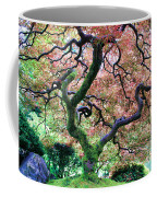 Japanese Tree In Garden Coffee Mug