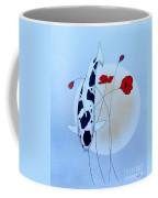 Japanese Utsuri Mono Poppy Moon Coffee Mug