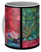 Japanesse Flower Arrangment Coffee Mug