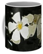 Jasmine Expressive Brushstrokes Coffee Mug