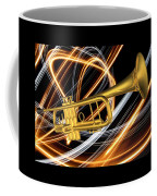 Jazz Art Trumpet Coffee Mug