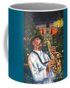 Jazz By Street Lamp Coffee Mug