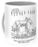 Jazz-deli Fusion Take My Hams Coffee Mug