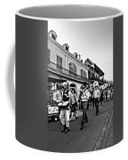 Jazz Funeral Bw Coffee Mug