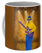 Jazz Guitar Man Coffee Mug
