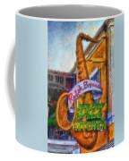 Jazz Kitchen Signage Downtown Disneyland Photo Art 02 Coffee Mug