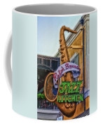 Jazz Kitchen Signage Downtown Disneyland Coffee Mug
