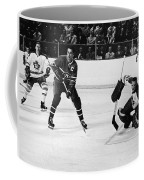 Jean Beliveau Poster Coffee Mug by Gianfranco Weiss