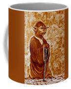 Jedi Master Yoda Digital From Original Coffee Painting Coffee Mug