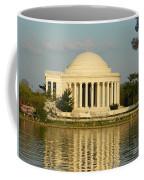 Jefferson Memorial At Sunset Coffee Mug