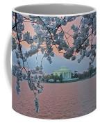 Jefferson Memorial Cherry Blossoms Coffee Mug
