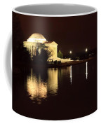Jefferson Memorial From Across The Tidal Pool Coffee Mug