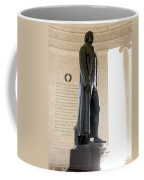 Jefferson Memorial In Washington Dc Coffee Mug by Olivier Le Queinec