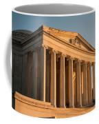 Jefferson Memorial Sunset Coffee Mug by Steve Gadomski
