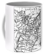 Jefferson: States, 1784 Coffee Mug