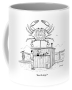 Jeff's Crab Hut Coffee Mug