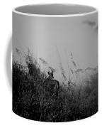 Jekyll Deer In Black Coffee Mug