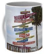 Jekyll Island Where To Go Coffee Mug