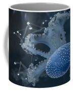 Jellyfish In Blue Coffee Mug