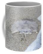 Jellyfish On The Sand Coffee Mug