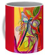 Jenny's Dragonfly In Acrylic Coffee Mug
