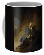 Jeremiah Lamenting The Destruction Of Jerusalem Coffee Mug