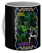 Jerry At Psychedelic Creek Coffee Mug