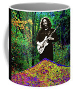 Jerry At The Cosmic Pyramid In The Woods  Coffee Mug