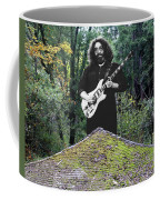 Jerry At The Pyramid In The Woods Coffee Mug