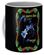 J G And B K At Winterland In 1977 Coffee Mug